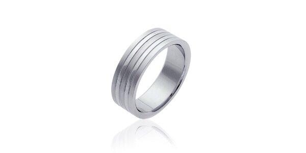 Dámsky oceľový prsteň Fifi Ange