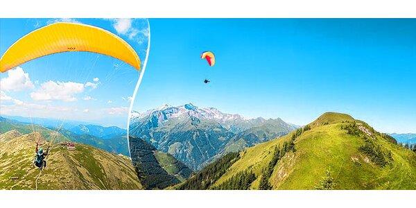 Paraglidingový let - Chopok alebo Donovaly