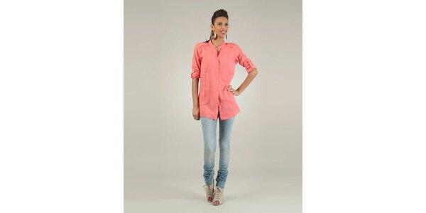 Dámska korálovo ružová košeľa Lilly´s Mood