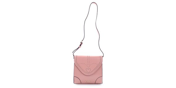 Dámska ružová štvorcová kabelka LYDC