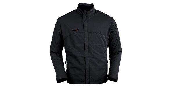 Čierna bežecká bunda Izas