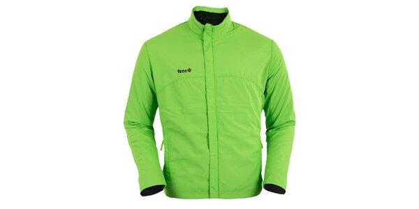 Svetlo zelená bežecká bunda Izas
