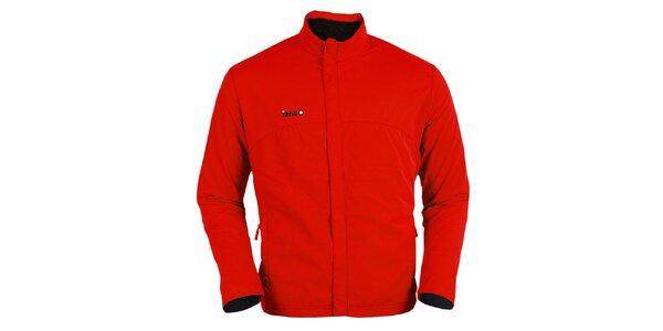 Červená bežecká bunda Izas
