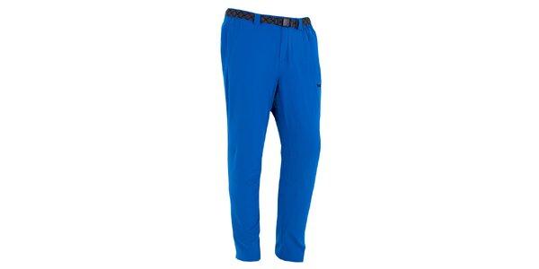 Pánske sýto modré outdoorové nohavice Izas