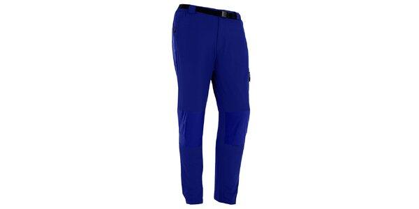 Pánske modré outdoorové nohavice s opaskom Izas