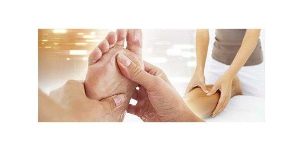 Reflexná masáž chodiel alebo klasická masáž chrbta