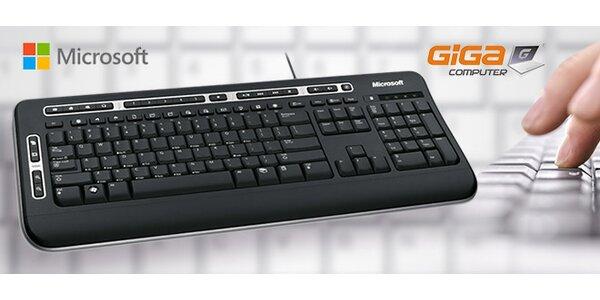 Multimediálna klávesnica od Microsoftu