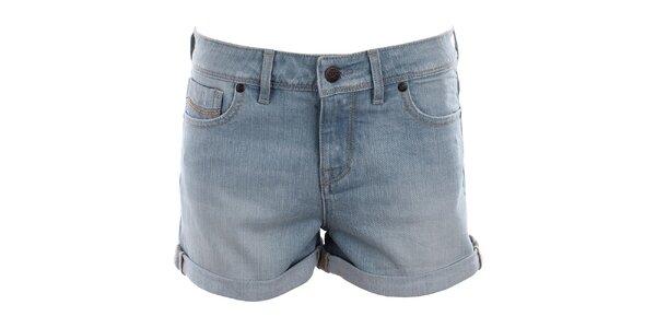 Dámske svetlé džínsové šortky Big Star