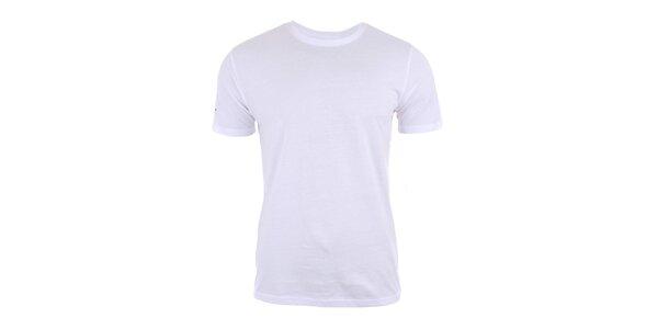 Pánske biele tričko s krátkym rukávom Big Star
