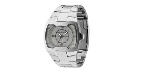 Pánske ocelové analógové hodinky Police