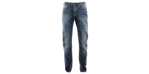 Pánske modré vyšúchané džínsy Big Star