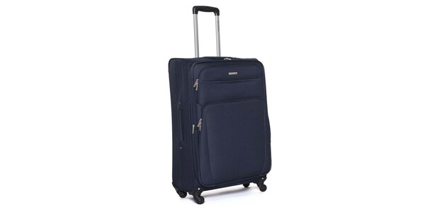 Veľký modrý cestovný kufor Ravizzoni