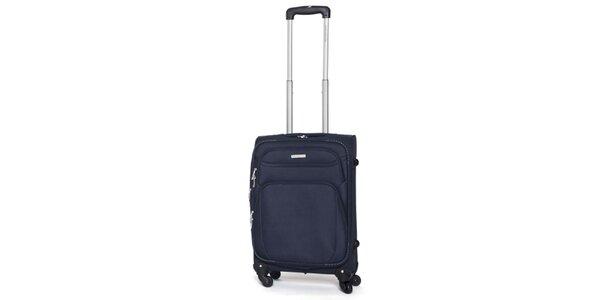 Malý modrý cestovný kufor Ravizzoni