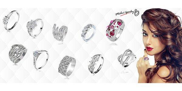Luxusné prstene s českými kryštálmi