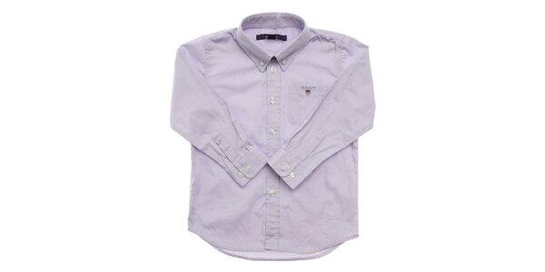 Detská svetlo modrá košeľa Gant