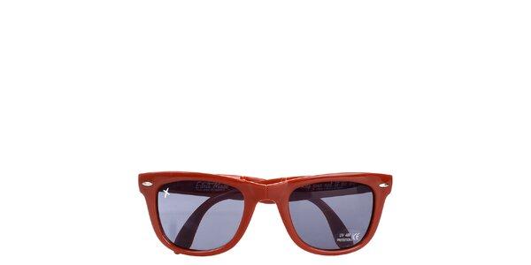 Červené slnečné okuliare Wize & Ope