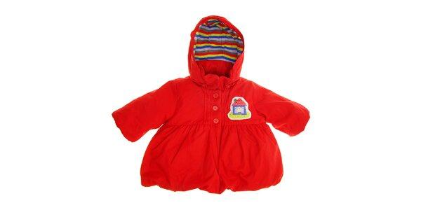 Detský červený kabátik Tuc Tuc