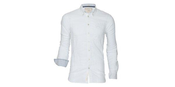 Pánska biela košeľa Paul Stragas