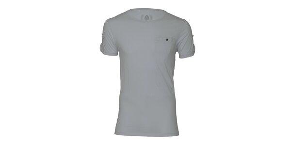 Pánske šedé tričko Paul Stragas