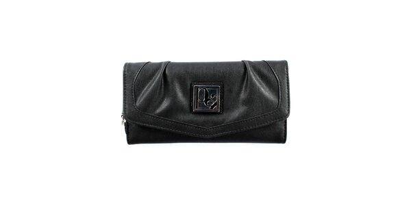 dd318e4b5e Dámska podlhovastá čierna peňaženka Menbur