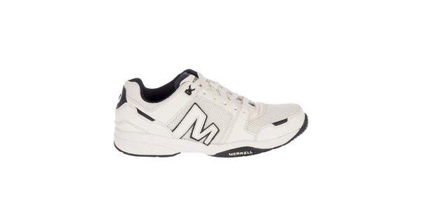 Pánske biele kožené športové tenisky Merrell