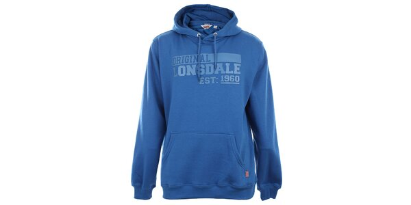 Pánska modrá klokania mikina Lonsdale