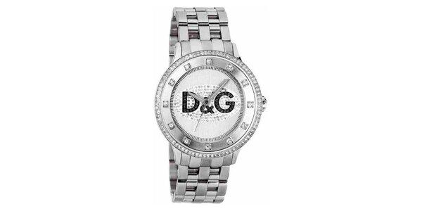 Dámske hodinky z pozlátenej nerezovej ocele Dolce & Gabbana