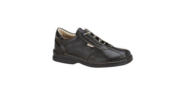 Dámske čierne prešívané topánky Buggy