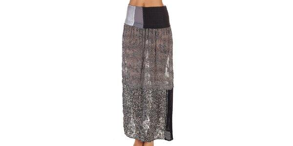 Dámska vzorovaná sukňa s flitrami Custo Barcelona