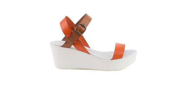Dámske sandále s barevnými pásky Liberitae