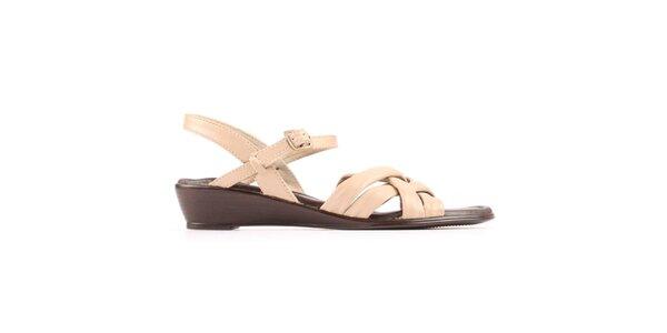 Dámske béžové sandálky Bel canto