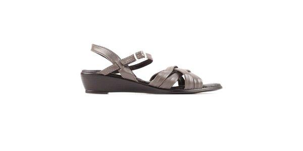 Dámske šedé sandálky Bel canto