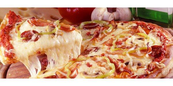 Chrumkavá pizza v reštaurácii U Jozefa