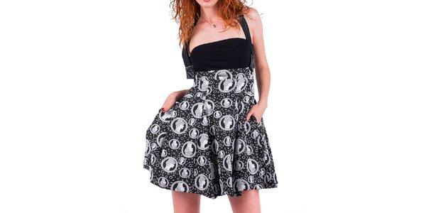 Dámska sukňa s potlačou Nelita