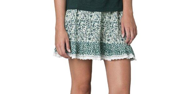 Dámska vzorovaná sukňa Yhoss