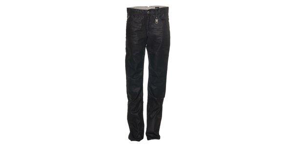 Elegantné pánske tmavo modré džínsy Energia