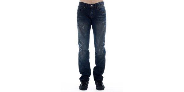 Pánske tmavo modré džínsy Freesoul
