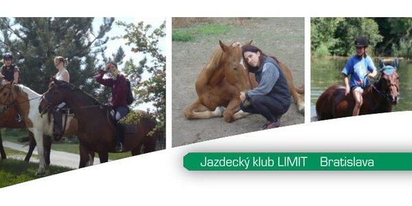 20 eur za 2 hodiny jazdy na koni pre 2 osoby so zľavou 50%!