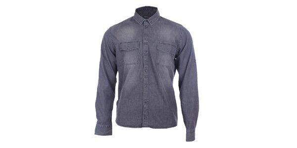 Pánska džínsová košeľa Pietro Filipi