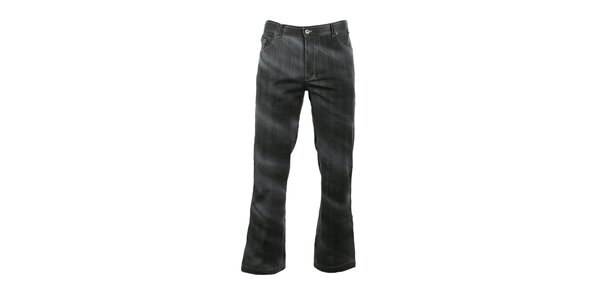 Pánske softshellové nohavice s džínsovým vzorom Trimm