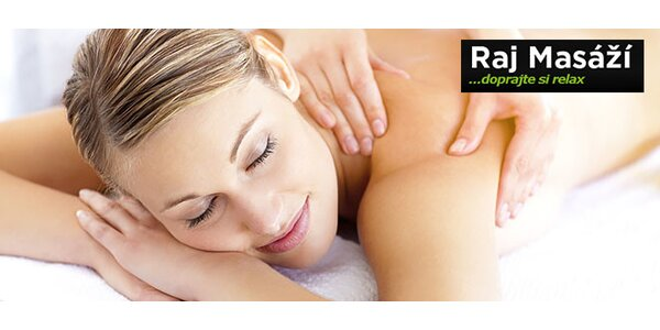 Celotelová masáž alebo reflexná masáž