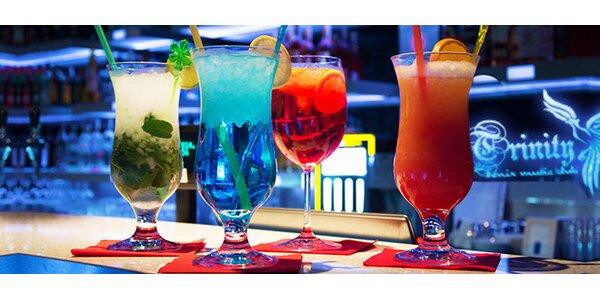 Miešaný alkoholicky drink a fresh limonáda