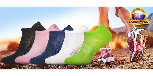 Kvalitné členkové ponožky Shox