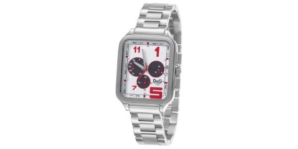 Pánske oceľové hodinky Dolce & Gabbana