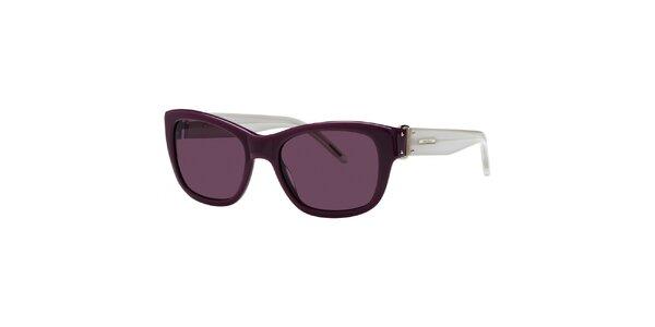 Dámske fialovo-šedé slnečné okuliare Nina Ricci