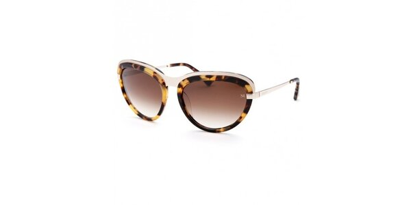 Dámske leopardie slnečné okuliare Nina Ricci