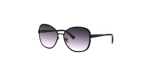 Dámske čierne slnečné okuliare s gradientnými sklami Nina Ricci
