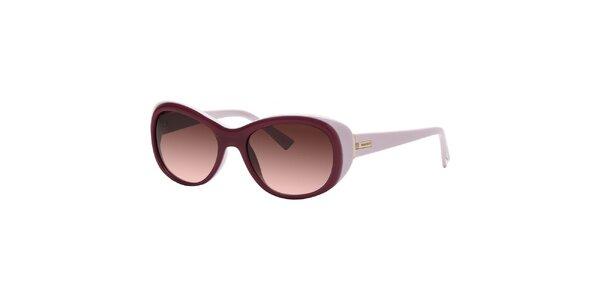 Dámske slnečné okuliare v odtieňoch fialovej farby Nina Ricci