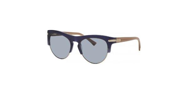 Dámske modro-béžové slnečné okuliare Nina Ricci