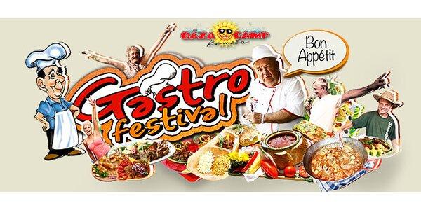 3-dňová permanentka na Gastrofest Komoča